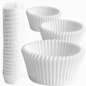 Фото Подложки,коробки,салфетки и бумажные формы для тортов,кексов и пряников Капсулы бумажные для капкейков 50 мм 30 мм 1000  штук