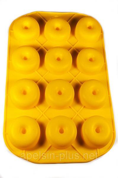 Силиконовая форма для Пончиков на 12 штук