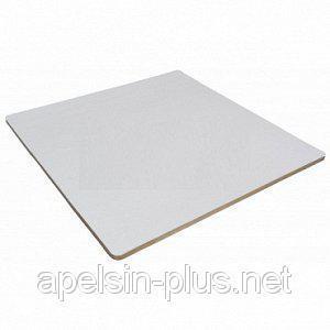 Подложка-поднос усиленная ламинированная белая 25 см 25 см 4 мм