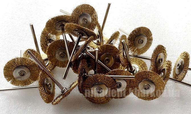 Фото Для зуботехнических лабораторий, АКСЕССУАРЫ, Полиры, щетки, диски Крацовка сталь, латунь (Stoddart)