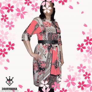 Фото Женская одежда Платье / рукав летучая мышь