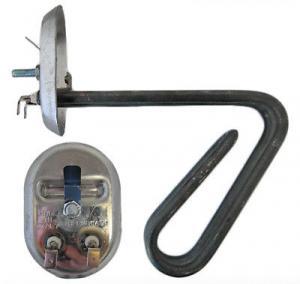Фото Запчасти для бытовой техники, Запчасти для водонагревателей  Тэны водонагревателя RNSA 3000 Вт - нерж.сталь / овальный фланец