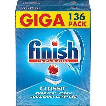 Таблетки Calgonit Finish classic для посудомоечных машин 136шт.