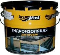 Фото Гидроизоляция, Мастика и битум Мастика битумно-резиновая для кровли AquaMast 3 кг
