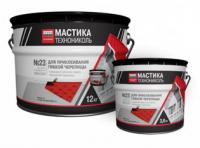 Фото Гидроизоляция, Мастика и битум Мастика приклеивающая ТехноНИКОЛЬ №23 3,6 кг