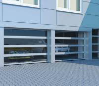 Промышленные панорамные секционные ворота DoorHan ISD02