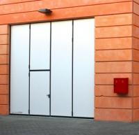 Промышленный складные ворота DoorHan