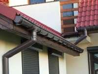 GAMRAT Труба водосточная Gamrat 90 мм 3 м коричневая
