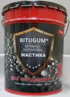 Мастика битумно-каучуковая Bitugum фундамент 18кг
