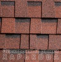 Битумная черепица ШИНГЛАС РАНЧО Красный - Черепица на рынке Барабашова