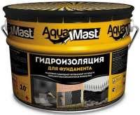 Мастика битумная AquaMast 10 кг фундамент