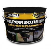 Мастика битумная AquaMast 18 кг фундамент