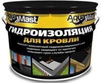 Мастика битумно-резиновая AquaMast 10 кг кровля