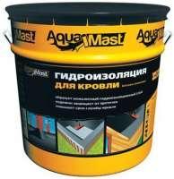 Мастика битумно-резиновая AquaMast 18 кг кровля