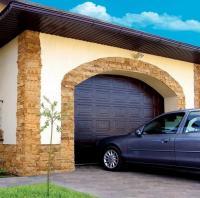 Фото Ворота, Гаражные ворота Ворота гаражные ALUTECH. Филенка. ширина 3000мм, высота 2700мм. Торсионный механизм