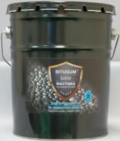 Мастика битумно-каучуковая Bitugum фундамент 10 кг