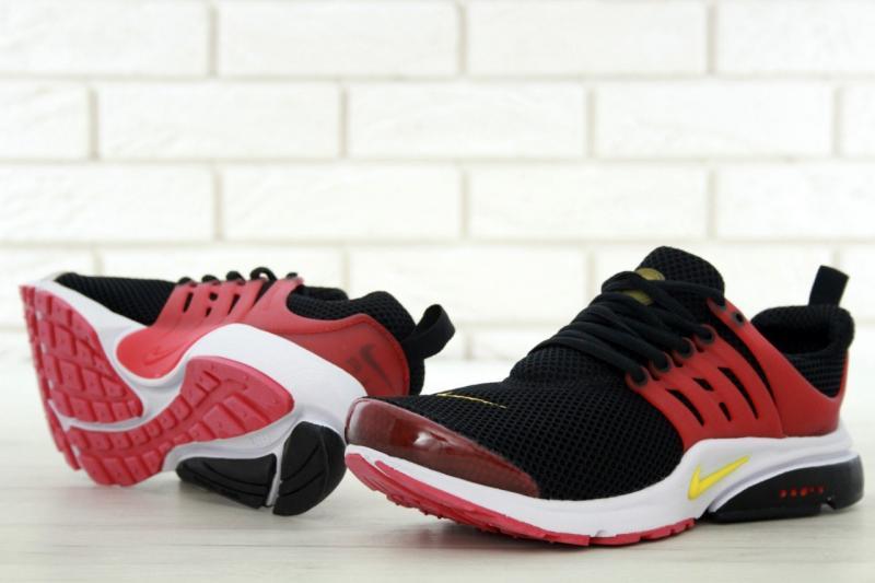 Фото  Nike Air Presto Black Red (41-45)