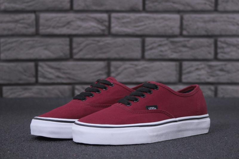 Фото Vans Authentic Bordo (36-45) 93722fe61307a