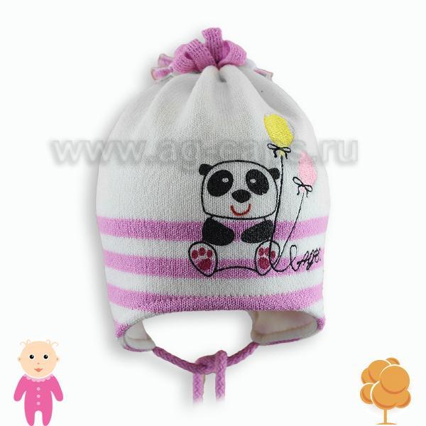 Шапка детская AGBO 804 PANDA (на подкладке)