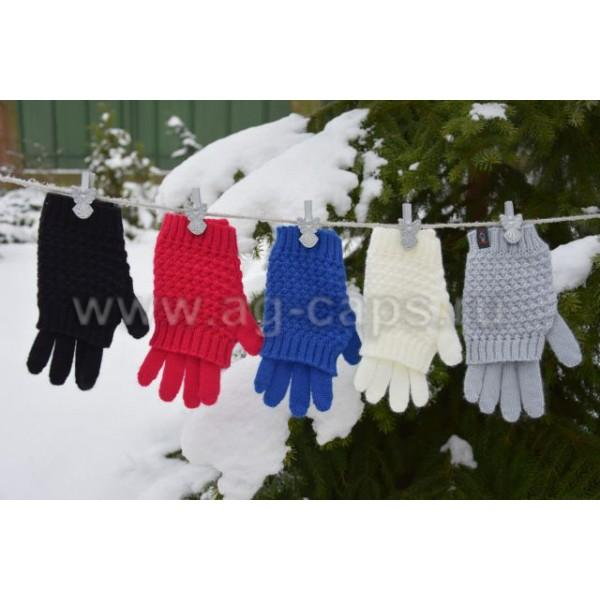 Перчатки детские MARGOT BIS-W17 NAKLA (двойные на пальцах одинарные)