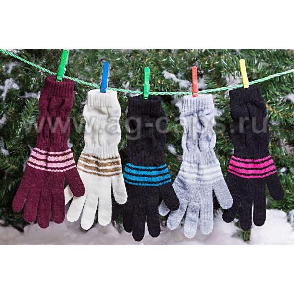 Перчатки детские MARGOT BIS-FOKAJA (одинарная вязка)
