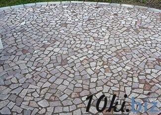 Брекчия гранитная купить в Житомире - Брусчатка и тротуарная плитка