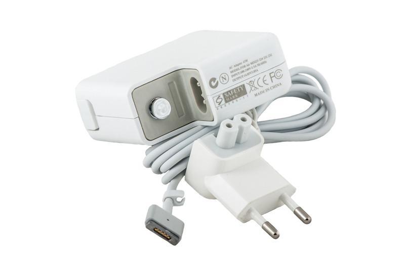 Блок питания для ноутбуков PowerPlant APPLE 220V, 14.85V 45W 3.05A (MagSafe2-L)