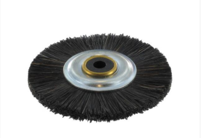 Щетка для шлифмотора MCP001 с пластиковым центром, жесткая черная щетина Stoddart ( Стоддарт)