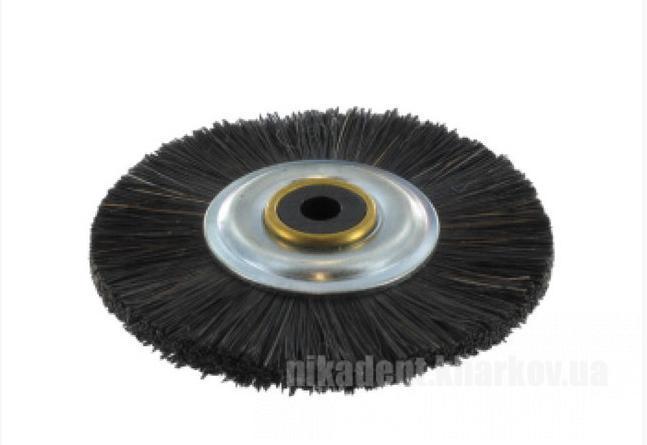 Фото Для зуботехнических лабораторий, АКСЕССУАРЫ, Полиры, щетки, диски Щетка для шлифмотора MCP001 с пластиковым центром, жесткая черная щетина Stoddart ( Стоддарт)