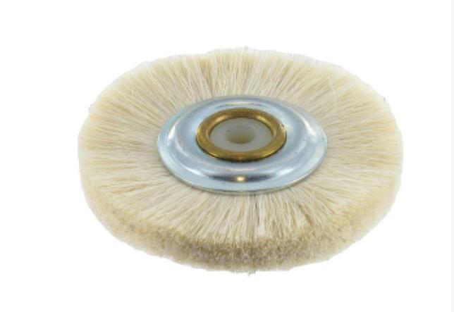 Щетка для шлифмотора мср003 с пластиковым центром, супер мягкая шерсть козы Stoddd ( Стоддарт)