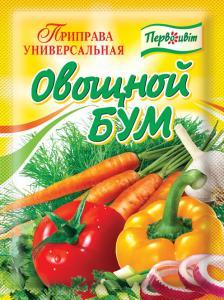 Фото  Приправа УНИВЕРСАЛЬНАЯ Овощной бум