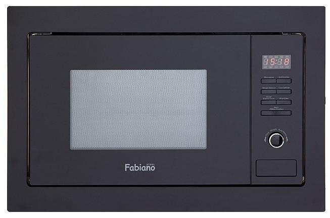 Fabiano Микроволновая печь встраиваемая Fabiano FBM 22 G black