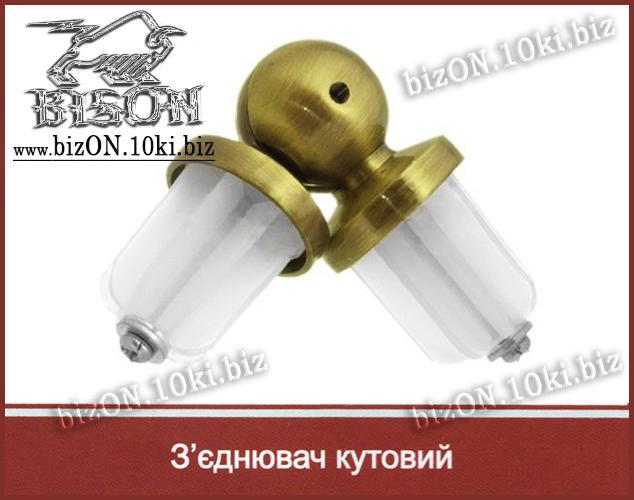 Антико   Соединитель угловой (эркерный) для трубы   d= 25мм