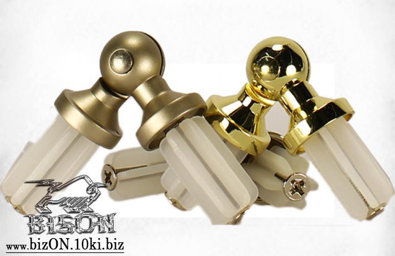 Фото Карнизы Металлические Ø 25 мм, Трубы и Кронштейны Ø 25 мм Антико   Соединитель угловой (эркерный) для трубы   d= 25мм