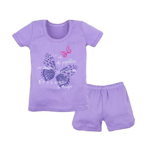Комплект футболка и шорты для девочки