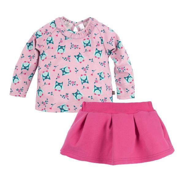 Комплект джемпер и юбка для девочки