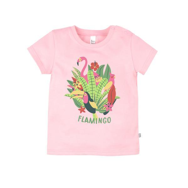 Футболка 'Фламинго' для девочки