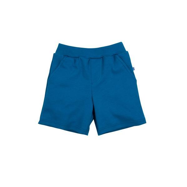 Синие шорты с карманами для мальчика