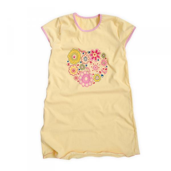 Ночная сорочка с принтом для девочки