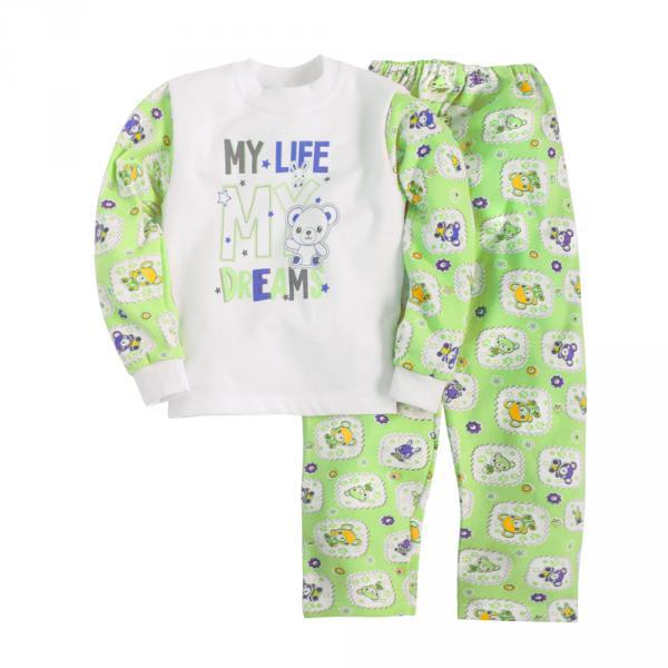 Пижама джемпер и брюки с принтом для мальчика
