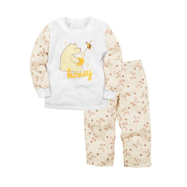 Пижама джемпер и брюки с принтом для девочки