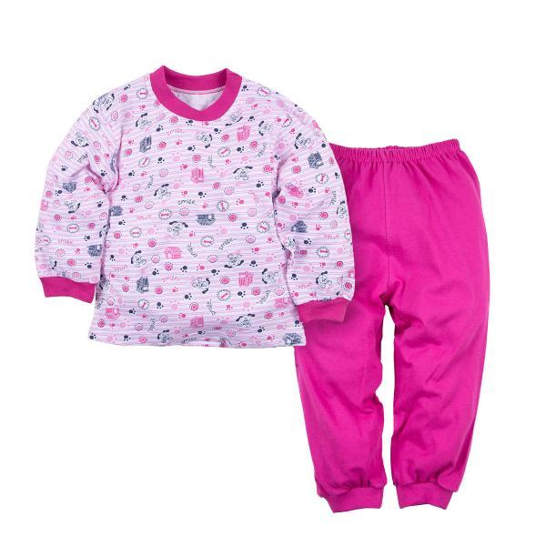 Пижама джемпер и брюки для девочки