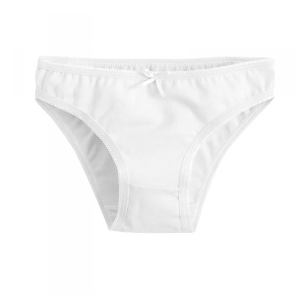 Белые трусы для девочки