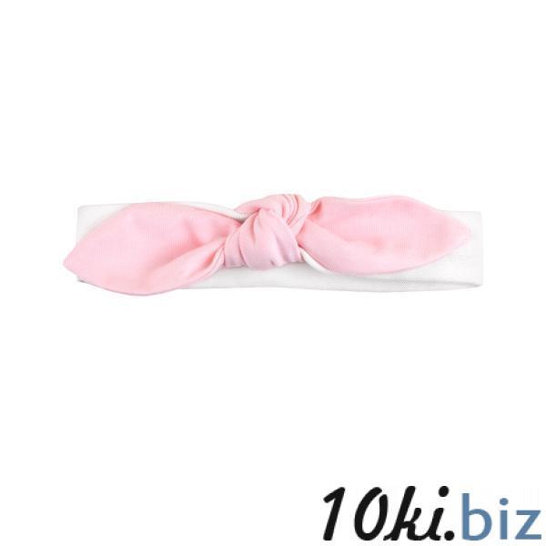 Повязка с бантиком 'Фламинго' Повязки на голову для девочек в Москве
