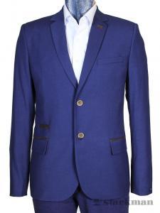 Фото Мужская одежда оптом, Пиджаки приталенные Каталог Пиджак 203/2 от магазина Starkman