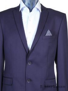 Фото Мужская одежда оптом, Костюмы приталенные Костюм приталенный Pacific синий