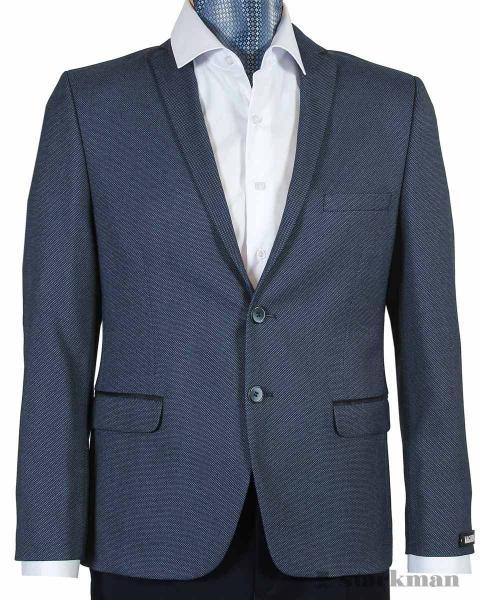 Пиджак приталенный, с локтями JS 22929_3