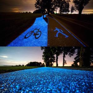 Фото Светящийся порошок (люминофор) ТАТ 33 Люминесцентный пигмент ТАТ 33 базового синего цвета.