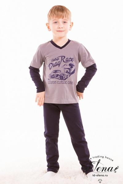 Пижама (футболка+брюки) х/б