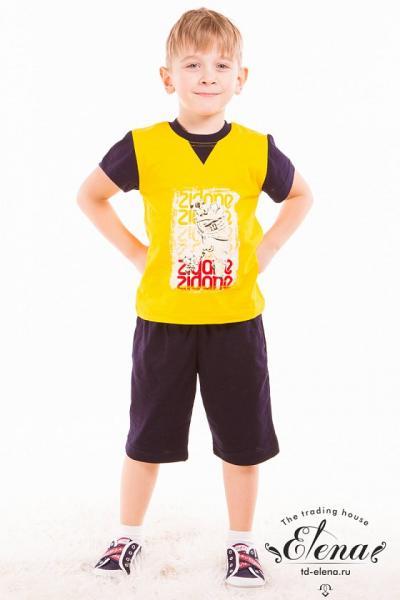 Комплект (футболка+капри) х/б